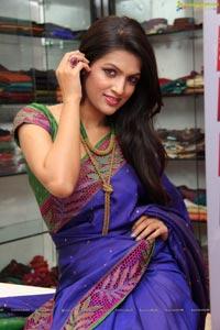 Ritu Biradar in Saree