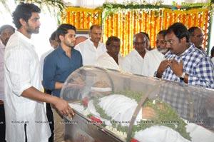 Ramanaidu Last Rites Photos