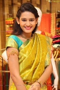 Swetha Jadhav in Saree