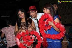 Poonam Pandey Valentine's Day Celebrations