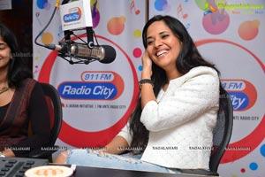 Anasuya at Radio City