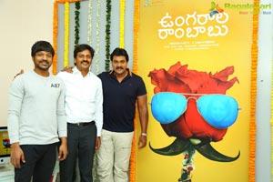 Ungarala Rambabu Poster Launch