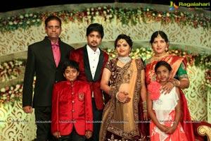 Vishnu Vardhini and Anup Chand Wedding