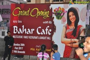 Kajal Aggarwal Bahar Cafe