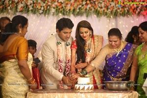 Swetha Jadhav Wedding Reception