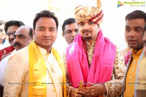 Vishnu Vardhini-Anup Chand Wedding
