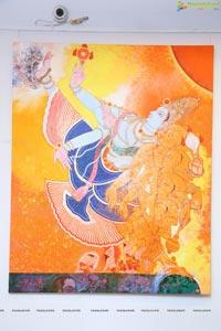 Giridhar Gowd Dasavatharam Art