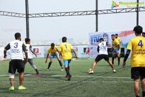 Neymar Jr's Five 2018 Qualifiers Match in Hyderabad