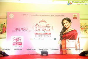Srimathi Silk Mark Beauty Pageant Auditions 2018