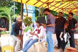 Gayathri Working Stills