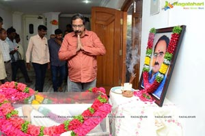 Celebrities Pay Homage To Vijaya Bapineedu