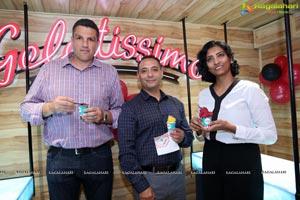 Mega Launch of Gelatissimo India at Hyderabad