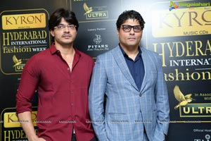 Kyron Hyderabad Internation Fashion Week Logo Launch