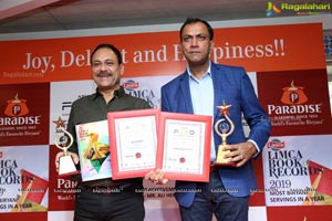 Paradise Enters Limca Book of Records