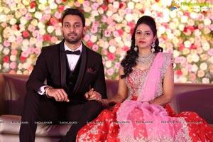Grand Wedding Reception of Sri Raghav Reddy & Bhavana