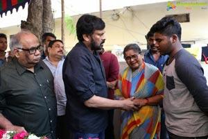 Chiranjeevi Condolences to Pasupuleti Ramarao