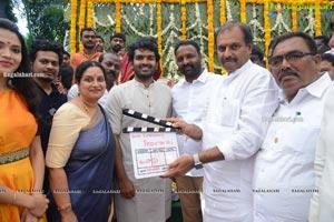 Kiran Abbavaram - Priyanka Jawalkar's Film Opening