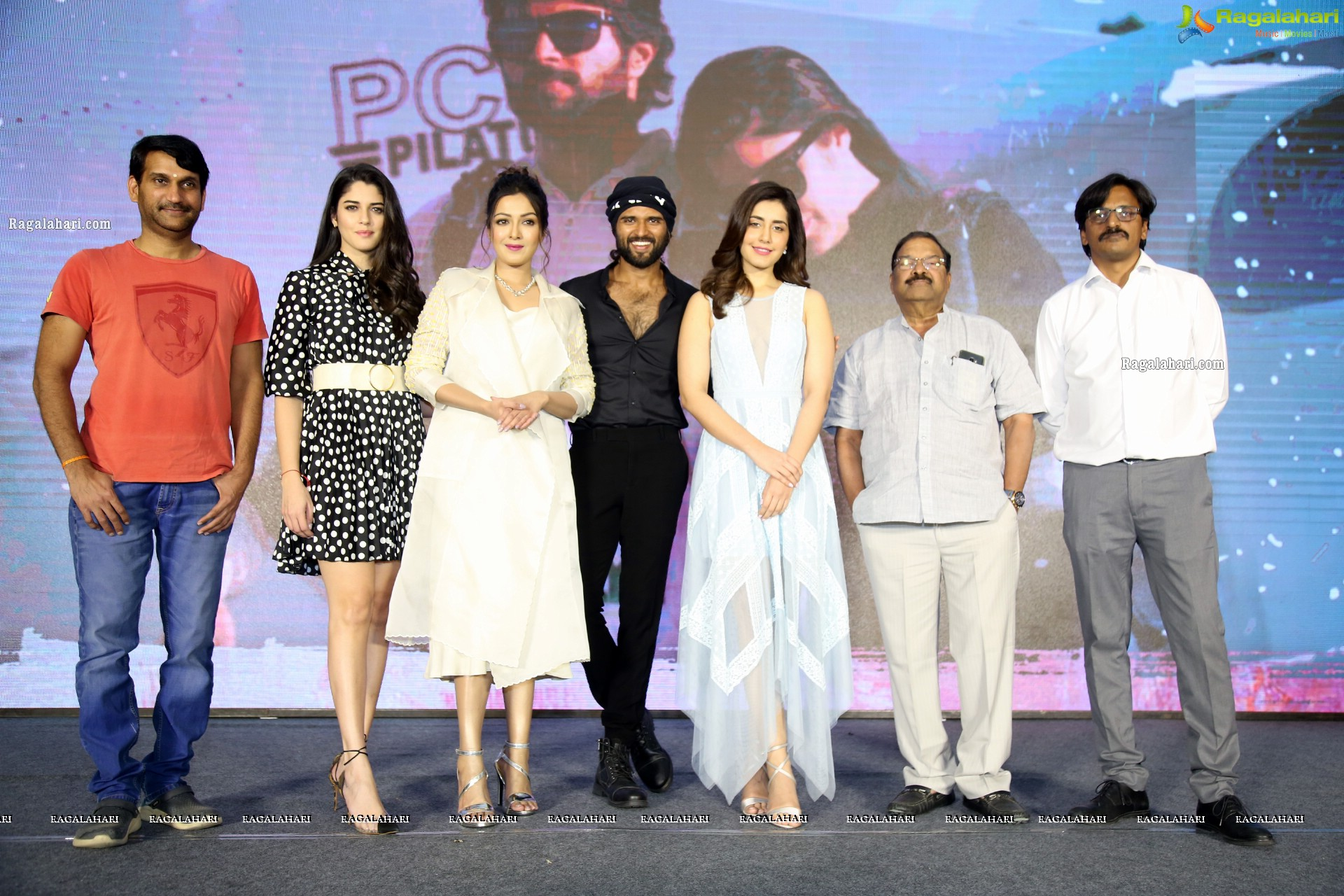 World Famous Lover Movie Trailer Launch