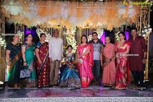 Ananya Tallamudi's Half Saree Ceremony
