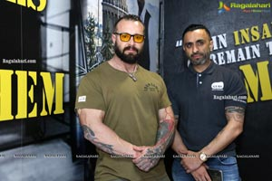 Mr. Jag Chima and Kris Gethin Visit Kris Gethin Gyms