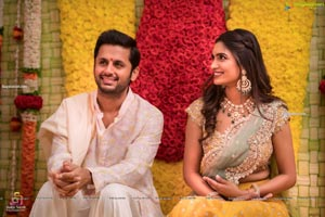 Nithiin and Shalini's Engagement
