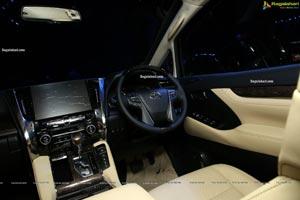 Illustrious Toyota Vellfire Showcased at HICC