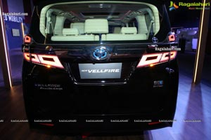 Toyota Launches Self-Charging EV Vellfire