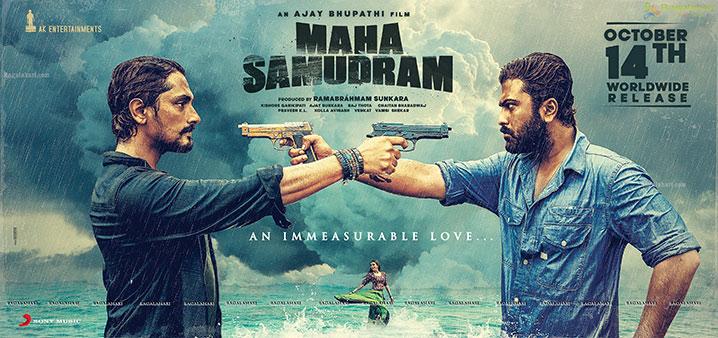 Maha Samudram Release Date Poster