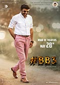 Balakrishna's BB3 May 28th 2021 Release Poster