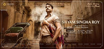 First Look Poster of Nani From Shyam Singha Roy