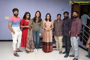 Celebs Watching Akshara Movie Special Screening