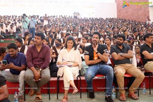 Naandi Movie Team Success Tour at VVIT College Guntur