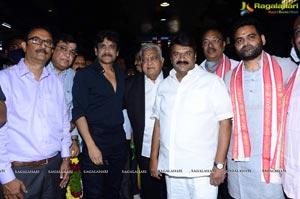 King Nagarjuna, Praveen Sattaru's Film Pooja Ceremony