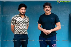 Pachchis Movie Title Logo Launch by Nagarjuna
