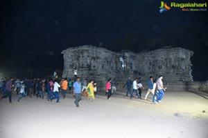 Uppena Movie Team at Warangal Bhadrakali Temple