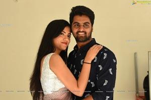 Bhawna Choudhary, Sriram Stills at Software Blues Press Meet