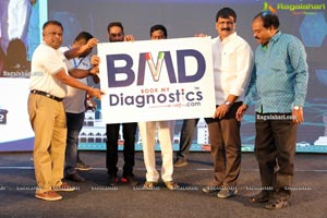 Book My Diagnostics App & Website Launch