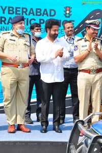 Jr Ntr at Cyberabad Traffic Police Annual Conference 2021