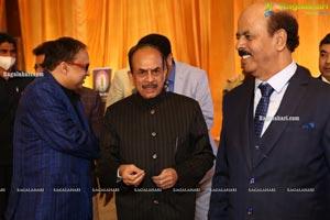 Telangana Home Minister Mahmood Ali Grand Daughter's Valima