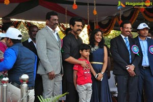 Ram Charan Attends Cyberabad Annual Sports