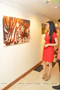 Asher Jay Art Exhibition