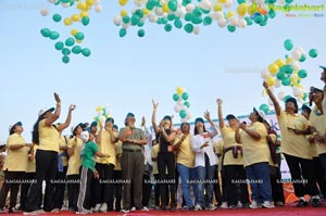 Walkathon to create awareness about Sanitation by COWE
