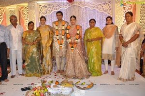 Vijaya Sai Reddy Neha Engagement
