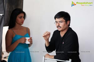 Shriya Pavithra Working Stills