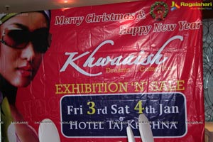 Khwaaish Exhibition Jan 2014