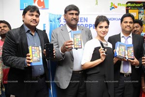 Samantha Launches Nokia Lumia 1320 in Hyderabad