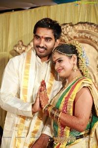 Santosh Pavan Weds Anjali