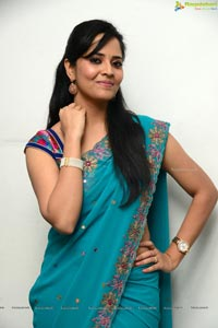 Anasuya in Saree