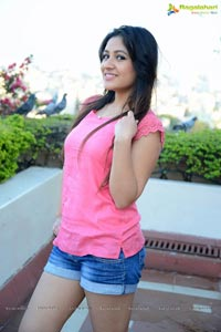 Prabhh Kaur in Pink Dress