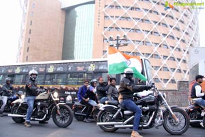 Banjara HOG Harley Riders Republic Day Parade